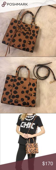 Rebecca Minkoff Mini MAB Polk-a-dot Handbag Perfect condition!! Like new! Very rare print. Rebecca Minkoff Bags