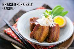 Chashu Pork (Marinated Braised Pork Belly for Tonkotsu Ramen) | Recipe ...