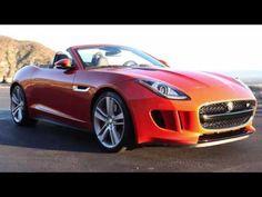 Jaguar F Type Convertible Deep Look - The Best Top Cars - YouTube