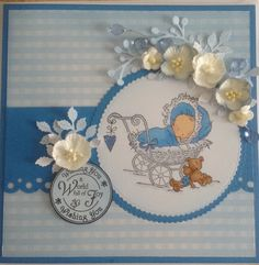 Liliofthevalley baby card