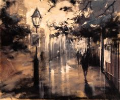 "Saatchi Online Artist Eva Czarniecka; Painting, ""Pretty London"" #art"