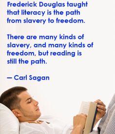 reading is still the path - Carl Sagan