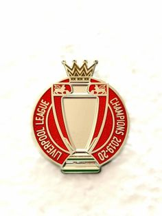 Liverpool FC Premier League Champions Pin Badge Hand Crafted Enamel Pin Badge Approx High with Butterfly Clutch Attachment Liverpool Premier League, Liverpool Champions, Liverpool Fans, Premier League Champions, Liverpool Football Club, Liverpool Fc Wallpaper, Johnny Thunders, European Soccer, Chelsea Fc