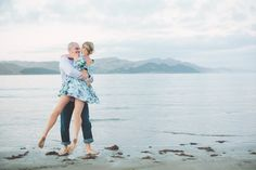 Ken + Fi's New Zealand Beach Engagement | Photo by http://thenickersons.ca
