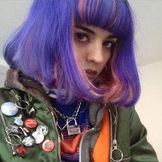Models | Rainbow Colored Hair | Sita Abellan