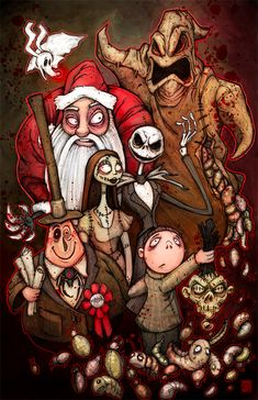 nightmare-before-christmas-chris-wood.png (650×1005)