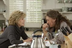 "Jane Fonda (left) and Lily Tomlin are the title characters in ""Grace and Frankie."""