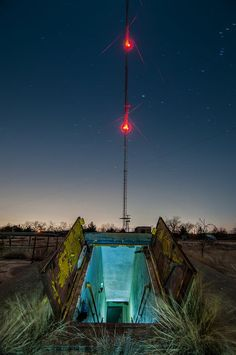 An abandoned Nike missile silo near Denton, Texas--I remember hearing that this existed when I was a kid