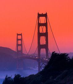 Golden Gate Bridge : SF.