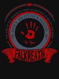 Skyrim Dark Brotherhood of Falkreath Dark brotherhood Elder scrolls skyrim Skyrim