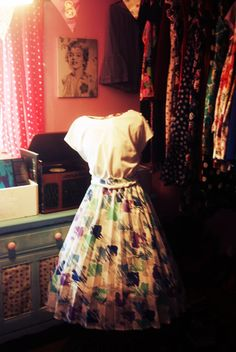 1980s Does 1950s Vintage Retro Madmen Circle Dress Swing Dress Plus Size 1950s Dress Plus Size Circle Dress Plus Size Dress