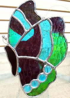 Butterfly stained glass suncatcher | Flickr - Photo Sharing!