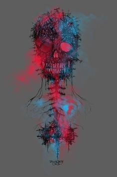 N Calavera by DizzyNicky and more skull inspirations and designs at… Memento Mori, Amoled Wallpapers, Skull Artwork, Skull Design, Skull And Bones, Art Plastique, Oeuvre D'art, Graphic, Dark Art