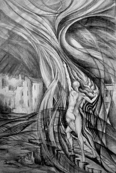 Uprising To Heaven by Mikhail Savchenko Heaven, Wall Art, Drawings, Sky, Heavens, Drawing, Paintings, Paint, Paradise