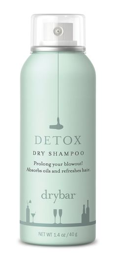 Like we said, you'll want to spend your time sipping margaritas with your BFFs rather than styling your stands. So a travel-size dry shampoo, like Drybar's Detox Dry Shampoo ($12-$20), is a must. We like this powder spray because it really masks scents and adds major volume to wilted hair.