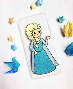 ♥ Hand painted Elsa phone cases  ♥ All cases will be made to order  ♥ This design is individually hand-painted using special permanent acrylic paints onto clear silicon plastic. It is then finished with two coatings of varnish to ensure maximum durability.  - The design is painted on the inside of the case so the paint cannot be affected.  - If you love the design, but dont see your phone model in the list, please contact us. We are always able to order in cases for any phone at no extra…