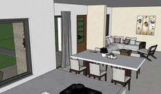 Diseño casa campestre las margaritas Dream House Plans, Dining Table, House Design, How To Plan, Furniture, Home Decor, Pdf, Homes, Templates