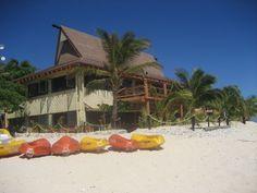 #Fun for all the family #kayaking at Beachcomber Island, #Fiji