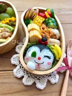 《キャラ弁》コキンちゃんのお弁当♡作り方 | ゚*.。.*゚Haママ手作りDiary*.。.*゚*. Japanese Lunch Box, Japanese Rice, Food Art, A Food, Cute Bento Boxes, Anime Angel Girl, Cute Food, Kids Meals, Kawaii