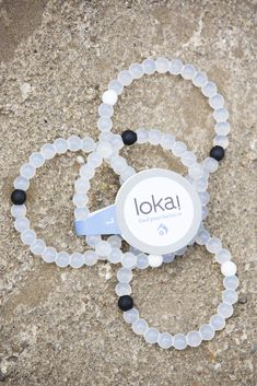 Lokai Bracelets are injected with black mud from The Dead Sea and water from Mt. Everest, the highest and lowest points on Earth. Gave several as gifts over the holidays and everyone loved them!
