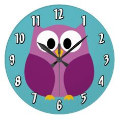 Cute Cartoon Owl in bright colors Clock lowest price for you. In addition you can compare price with another store and read helpful reviews. BuyReview          Cute Cartoon Owl in bright colors Clock Review from Associated Store with this Deal...