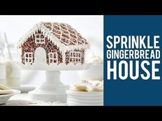 How to Make a Sprinkle Gingerbread House - YouTube