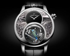 JAQUET DROZ – THE CHARMING BIRD The art of nature at its peak