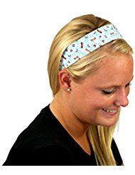 Bargain Headbands, Light Blue and Brown Mosaic Soft... >>> This is an Amazon Affiliate link. To view further for this item, visit the image link.