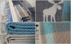 Luxusné vlnené deky - škandinávsky dizajn