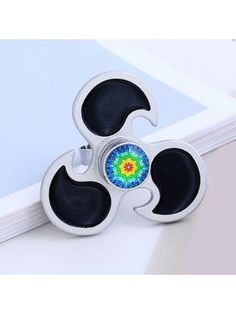 Flower EDC Fidget Hand Spinner Ring