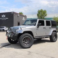 Jeep Wrangler sporting its new Fuel Wheels