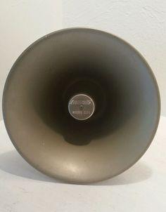 Vintage Executone Model C23 Public Address Loudspeaker Horn TESTED WORKS  #Executone