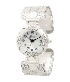 Geneva Women s bangle watches in a variety of styles. Precious Metals,  Geneva, Clocks 8bf8191d1a37