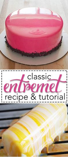 Shiny cakes, also known as Entremets. They are all the rage right now world and I have the recipes and step-by-step tutorials HERE for you! Fun, easy, and oh so impressive!