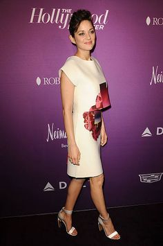 Actress Marion Cotillard attends the Hollywood Reporter's 3rd annual Academy Awards nominees night at Spago on February 2 2015 in Beverly Hills...