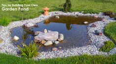 backyard wildlife pond | Click to view an enlarged view of this beautiful DIY Garden Pond