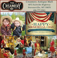 Creamery Antique Mall in Stevensville, MT 06757