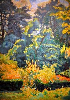 Pierre Bonnard paints another tapestry of Nature's singing harmonies.
