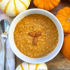 Pumpkin pie oatmeal is the perfect slow cooker breakfast for fall season.