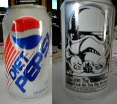 "Star Wars Diet Pepsi (from Vintage 'Star Wars' Snack Foods You'll Never See Again"" Coca Cola, Star Wars Food, Diet Pepsi, Snack Recipes, Snacks, Star Wars Humor, Star Wars Collection, Coco, Packaging Ideas"