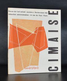 Revue de l'art Actuel # CIMAISE 4, Calliyannis # 1954, mint-