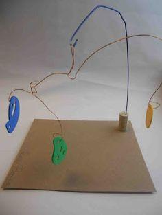 Create Art With Me!: Secret Code Monogram Calder Mobiles