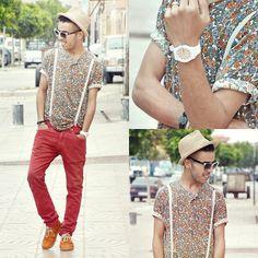 Swatch White, Zara Red, D Vintage, Lee, Vintage Shoes Orange
