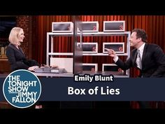 The Tonight Show Starring Jimmy Fallon: Box of Lies with Emily Blunt