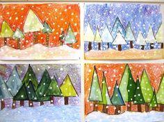 Talvisia kuusia. Advent Calendar, Holiday Decor, Art, Home Decor, Winter, Art Background, Decoration Home, Room Decor, Kunst