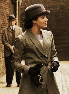 Jessica Brown Findlay as Lady Sybil, Downton Abbey Downton Abbey Costumes, Downton Abbey Fashion, Sybil Downton, Moda Lolita, Downton Abbey Series, Lady Sybil, Jessica Brown Findlay, Masterpiece Theater, Edwardian Era