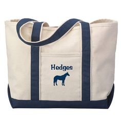 Horse Barn Tote Bag  Equestrian Tote Bag  Riding Bag    7