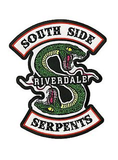 Riverdale Giant Serpent Back Patch | Hot Topic