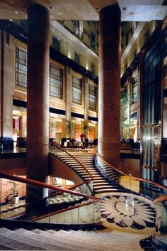 The Fullerton Hotel Singapore, Interior Design by HBA / Hirsch Bedner Associates