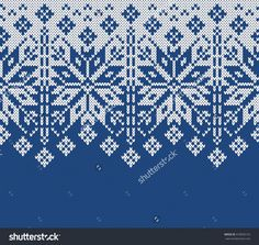 Winter Sweater Design. Seamless Knitting Pattern Stock Vector Illustratie 418020142 : Shutterstock